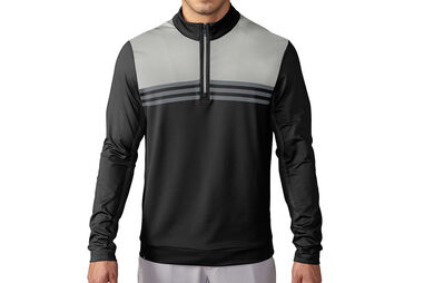 Pull adidas Golf climacool Colour Block 1/4 Zip