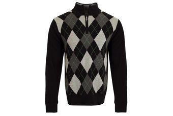Cutter & Buck Argyle Lined Sweater