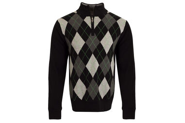 Pull Cutter & Buck Argyle Lined