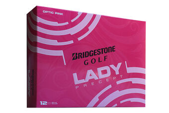 Bridgestone Golf Precept Ladies 12 Ball Pack 2016