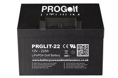 PROGolf 12V 22AH 36 Hole Lithium Battery