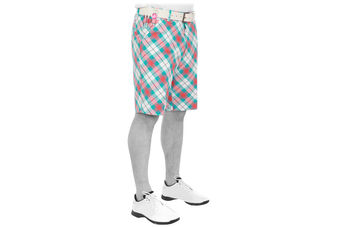 Royal & Awesome Well Plaid Tartan Shorts