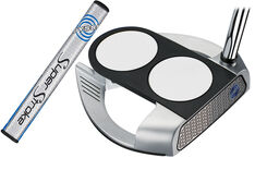 Odyssey Works Versa 2 Ball Fang Tank SS Putter