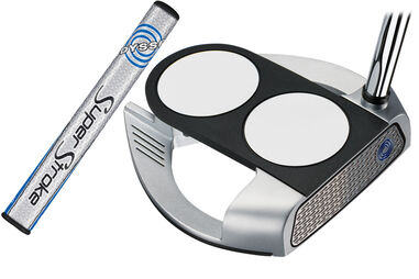 Odyssey Golf Works Versa 2 Ball Fang Tank Putter