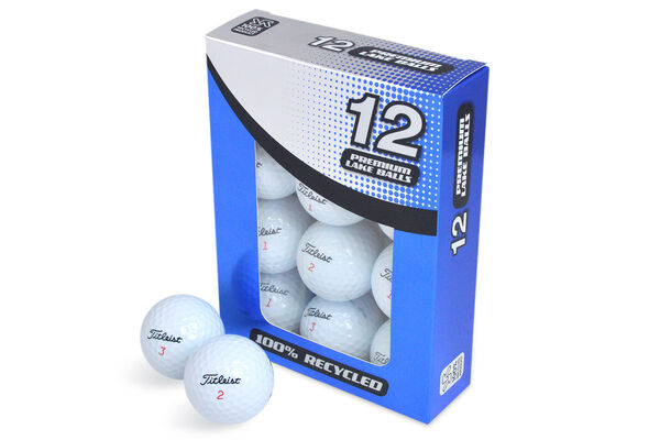 12 Balles de golf seconde chance grade A Titleist NXT