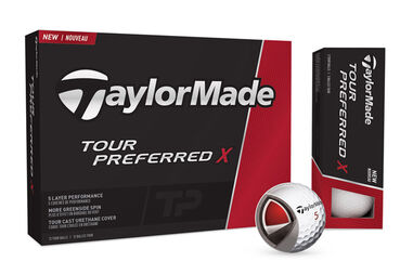 TaylorMade Tour Preferred X 12 Golfbälle