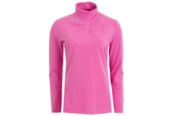 Green Lamb Ruth Roll Neck Ladies Base Layer