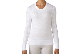 adidas Golf Essentials Crew Ladies Sweater