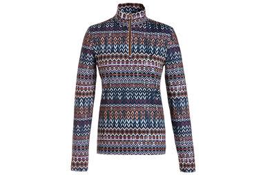 GOLFINO Printed Poloshirt für Damen