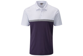 PING Nile Performance Panelled Polo Shirt