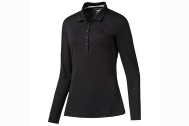 PUMA Golf Long Sleeve 2016 Poloshirt Für Damen