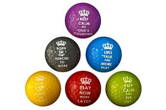 PGA Tour Novelty 6 Ball Pack