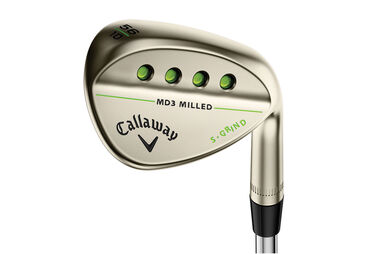 Callaway Golf MD 3 Milled Matte Gold Nickel Wedge