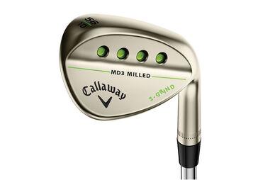 Callaway Golf MD 3 Milled Gold Nickel Wedge