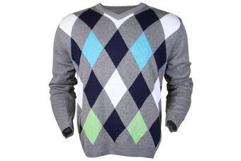 Palm Grove Diamonds Sweater