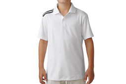 adidas Golf climacool 3-Stripes Junior Polo Shirt