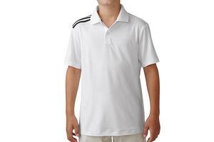 adidas Golf climacool 3Stripes Junior Polo Shirt