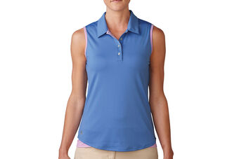 adidas Golf Essentials 3-Stripes Ladies Polo Shirt
