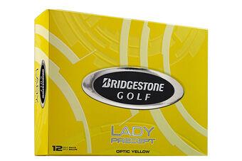 Bridgestone Golf Precept Ladies 12 Ball Pack