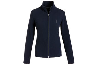 GOLFINO Full Zip Jacquard Ladies Wind Jacket