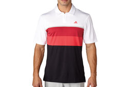 adidas Golf climacool Engineered Striped Polo Shirt