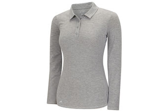 adidas Golf climalite Essentials Heather Ladies Polo Shirt