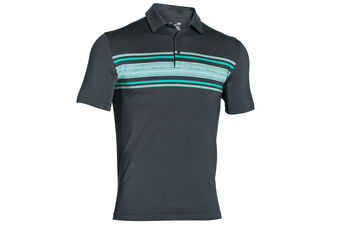Under Armour Playoff Chest Stripe Polo Shirt