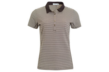 Polo Green Lamb Courtney Mini Stripe pour femmes