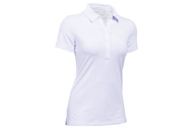 Under Armour Ladies Zinger Stripe Polo Shirt