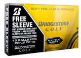 15 Balles de golf Bridgestone Golf Extra Soft