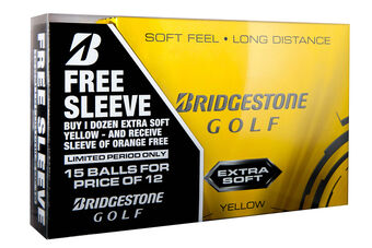 Bridgestone Golf Extra Soft 15 Ball Pack