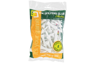 The Golfers Club Castle Tees 40 Pack