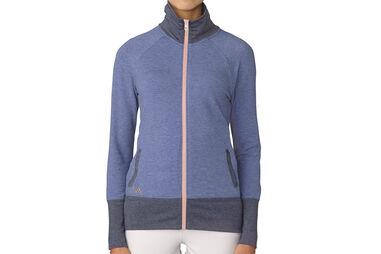 adidas Golf Ladies Rib-Knit Jacket