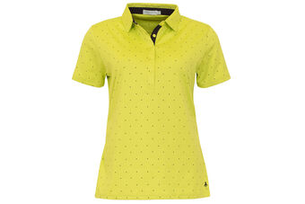 Green Lamb Printed Ladies Polo Shirt
