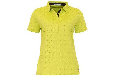 Green Lamb Ladies Printed Polo Shirt