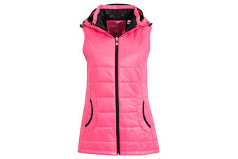 Calvin Klein Hooded Padded Ladies Gilet