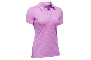 Under Armour Ladies Zinger Stripe Polo Shirt