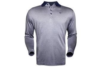 Palm Grove Pique LS Polo Shirt