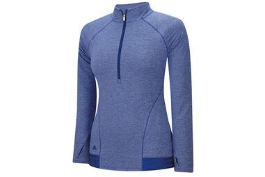 adidas Golf Ladies Advance Heathered Rangewear Sweater