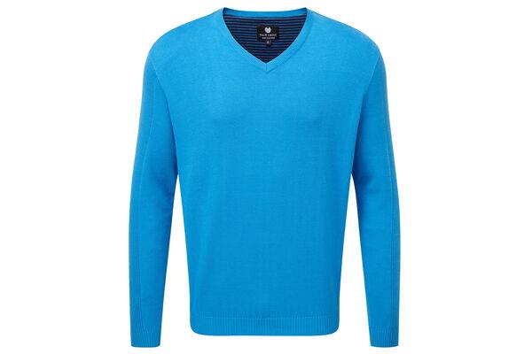 Palm Grove Sweater Rib Slv S6
