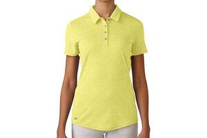 adidas Golf Essentials Heather Ladies Polo Shirt