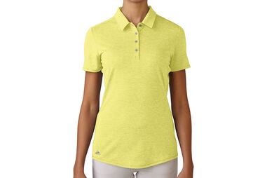 Polo adidas Golf Essentials Heather pour femmes