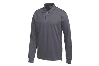 PUMA Golf Solid Polo Shirt