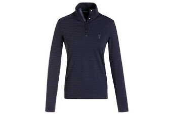 GOLFINO Sparkle Stripe Ladies Polo Shirt