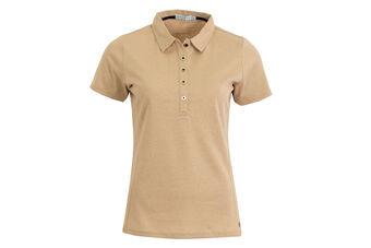 Green Lamb Textured Ladies Polo Shirt
