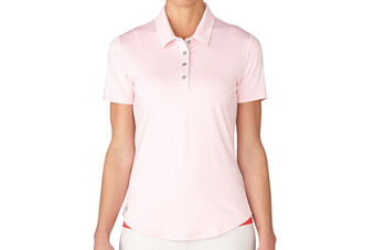 adidas Golf Essentials 3 Stripe Ladies Polo Shirt