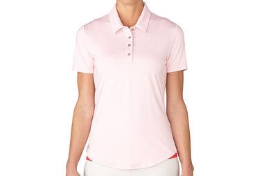 adidas Golf Essentials 3-Streifen Poloshirt für Damen