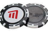 Poker chip con marchino magnetico Masters Golf