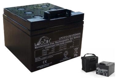 Leoch LPC 18 Hole Gel Battery 12V 24Ah