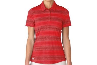 adidas Golf Ladies Multi Melange Polo Shirt